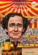 Cover for Who Was P. T. Barnum?