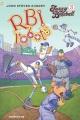 Cover for Fuzzy baseball. 3, RBI robots