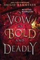 Cover for A vow so bold and deadly