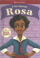 Cover for A girl named Rosa: the true story of Rosa Parks