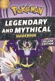 Cover for Pokémon legendary and mythical guidebook