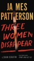 Cover for Three women disappear