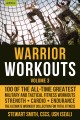 Cover for Warrior workouts. Volume 3: 100 of the all-time greatest military and tacti...