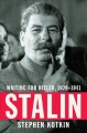 Cover for Stalin: waiting for Hitler, 1929-1941