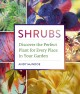 Cover for Shrubs: discover the perfect plant for every place in your garden