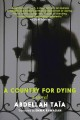 Cover for A country for dying