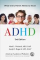 Cover for ADHD: what every parent needs to know