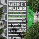 Cover for Walkable city rules: 101 steps to making better places