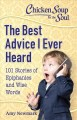Cover for The Best Advice I Ever Heard: 101 Stories of Epiphanies and Wise Words