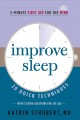 Cover for Improve sleep: 20 quick techniques with 3 extra techniques just for jet lag