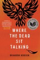 Cover for Where the dead sit talking