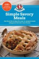 Cover for Simple Savory Meals: 175 Chicken & Beef Recipes