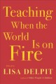 Cover for Teaching when the world is on fire