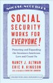 Cover for Social security works for everyone!: protecting and expanding the insurance...