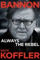 Cover for Bannon: always the rebel