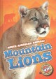 Cover for Mountain lions