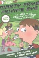 Cover for Marty Frye, private eye: the case of the missing poodle / The Case of the S...