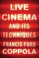 Cover for Live cinema and its techniques