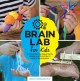 Cover for Brain lab for kids: 52 mind-blowing experiments, models, and activities to ...