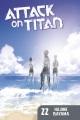Cover for Attack on Titan 22