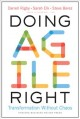 Cover for Doing agile right: transformation without chaos