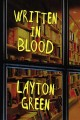 Cover for Written in blood