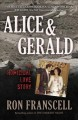 Cover for Alice & Gerald: a homicidal love story