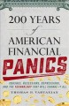 Cover for 200 years of American financial panics: crashes, recessions, depressions, a...