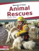 Cover for Animal rescues