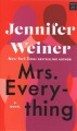 Cover for Mrs. everything [Large Print]