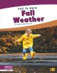 Cover for Fall weather