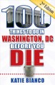 Cover for 100 things to do in Washington, DC before you die