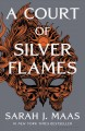 Cover for A court of silver flames