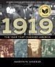 Cover for 1919 the year that changed America