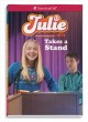 Cover for Julie takes a stand