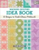 Cover for Machine-quilting Idea Book: 61 Designs to Finish Classic Patchwork
