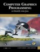 Cover for Computer graphics programming in OpenGL with Java