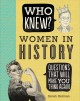 Cover for Women in history