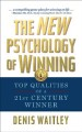 Cover for The New Psychology of Winning: Top Qualities of a 21st Century Winner