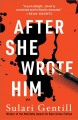 Cover for After she wrote him