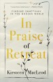 Cover for In praise of retreat: finding sanctuary in the modern world