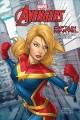 Cover for Captain Marvel Cinestory Comic