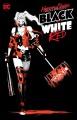 Cover for Harley Quinn black + white + red.