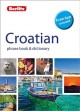 Cover for Croatian phrase book & dictionary.