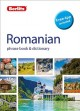 Cover for Romanian phrasebook & dictionary.