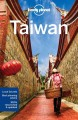 Cover for Lonely Planet Taiwan