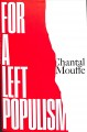 Cover for For a left populism