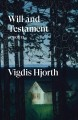 Cover for Will and testament: a novel