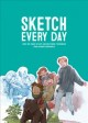 Cover for Sketch Every Day: 100+ Simple Drawing Exercises from Simone Grپnewald