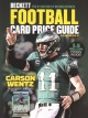 Cover for Football card price guide 2018-2019
